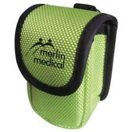 Finger Pulse Oximeter Carry Pouch Green