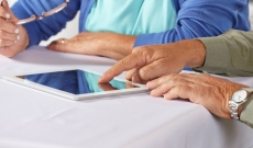 Digital technology for care home residents