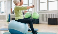 Exercises for Less Mobile Care Home Residents
