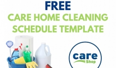 Free Download: Your Care Home Cleaning Schedule Template